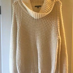 NWOT chunky knit cream sweater